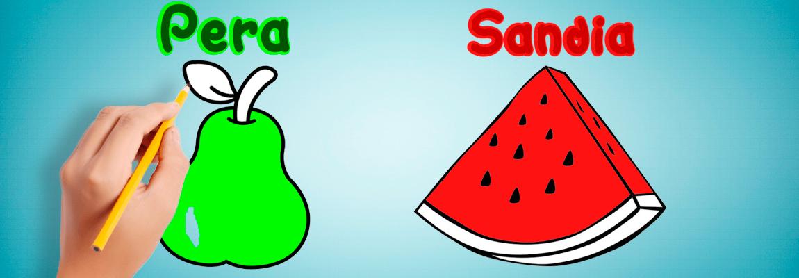 Pera y Sandia