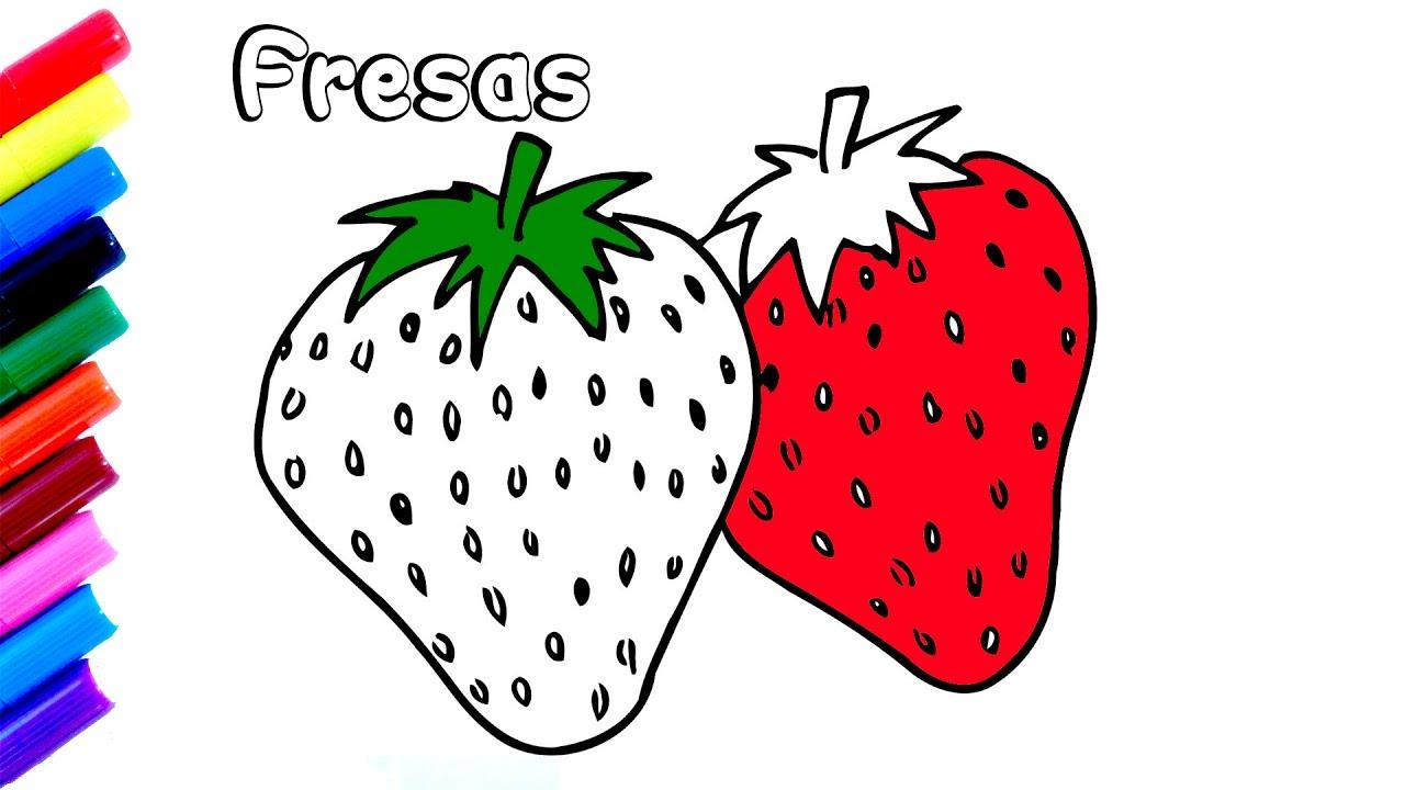 como-dibujar-fresas