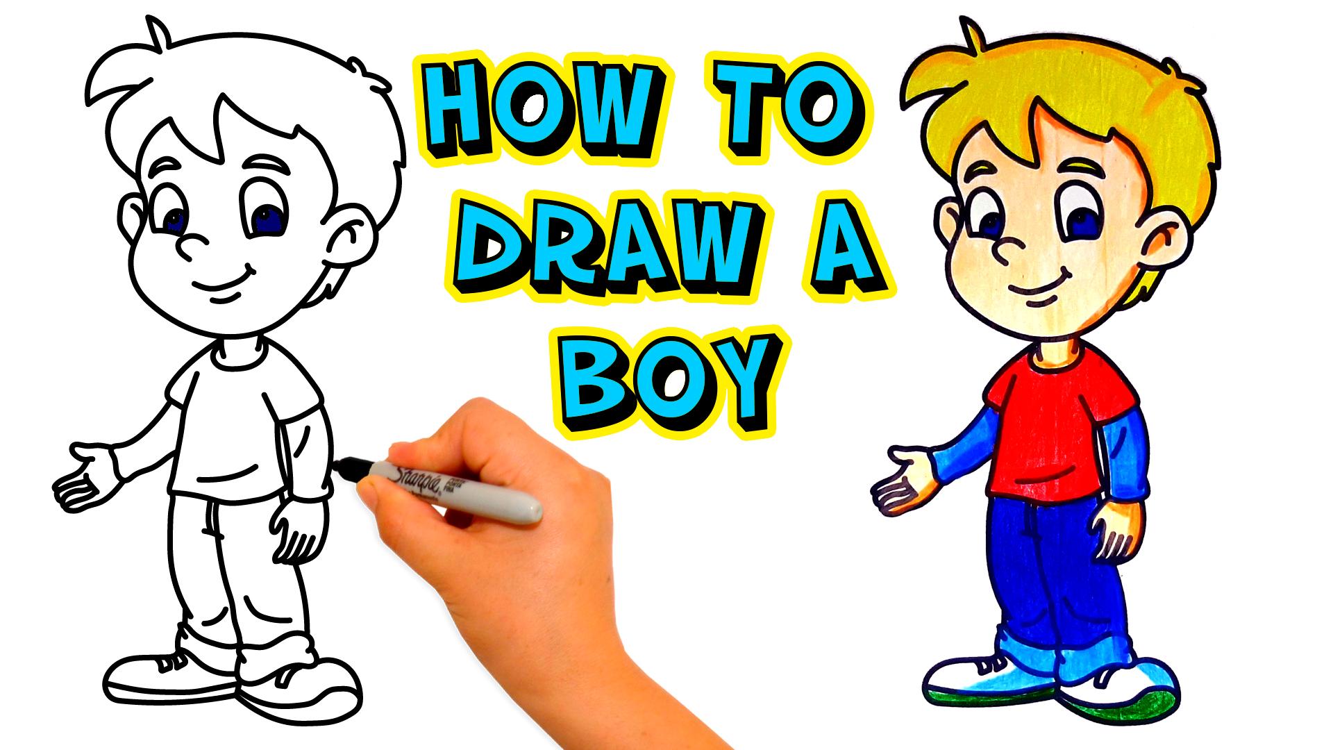How-to-draw-a-boy-como-dibujar-un-niño